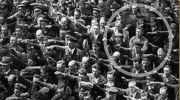 german wont salute