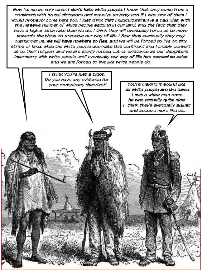 Injun talk