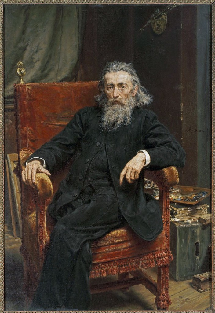Jan Matejko Self-portrait 1892