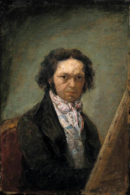 Francisco de Goya self portrait (1795)