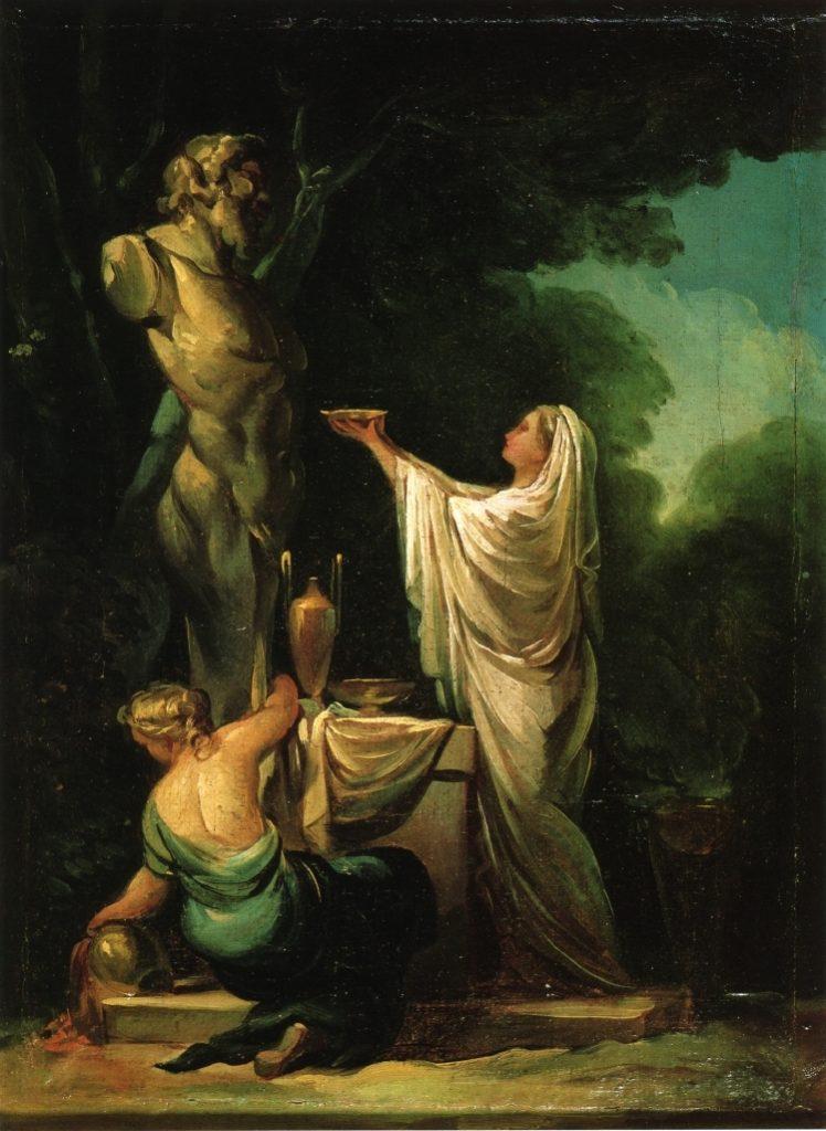 The Sacrifice To Priapus 1771